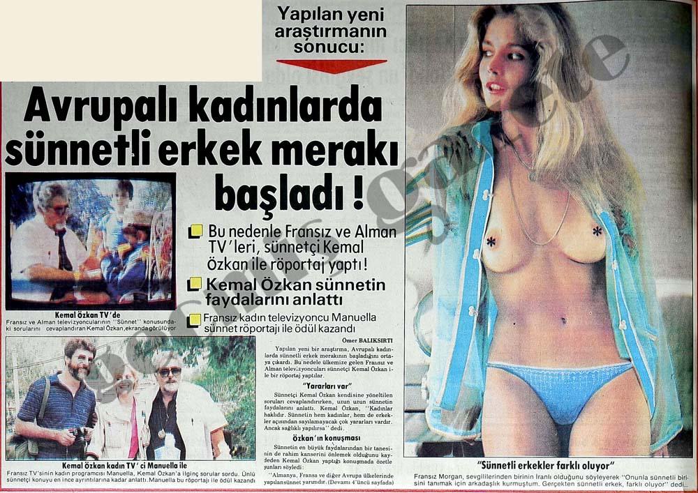 Avrupalı kadınlarda sünnetli erkek merakı başladı!