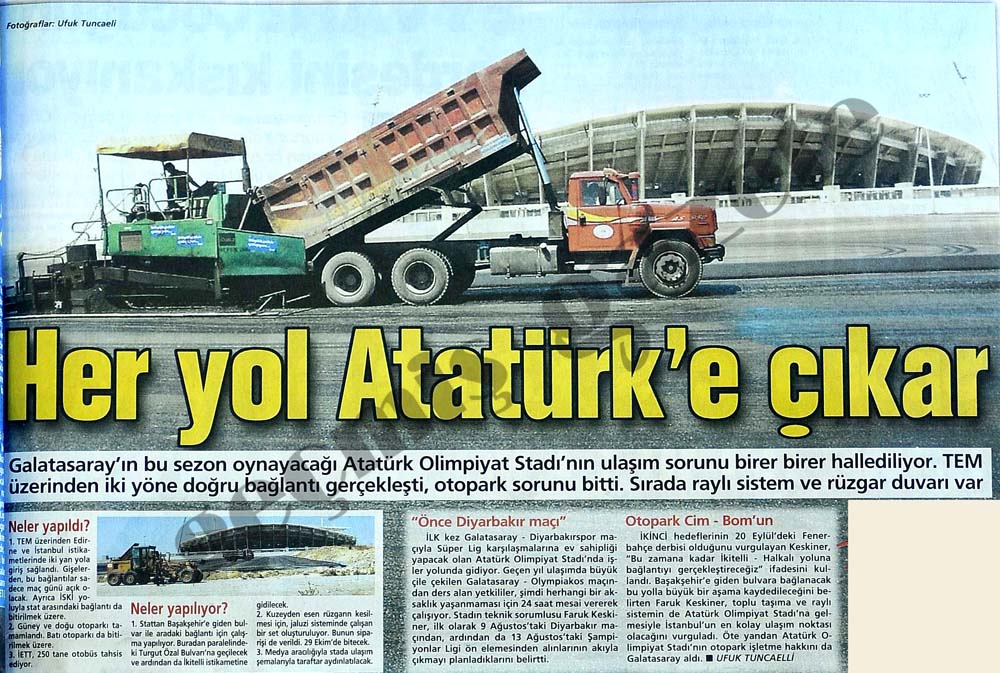 Her yol Atatürk'e çıkar