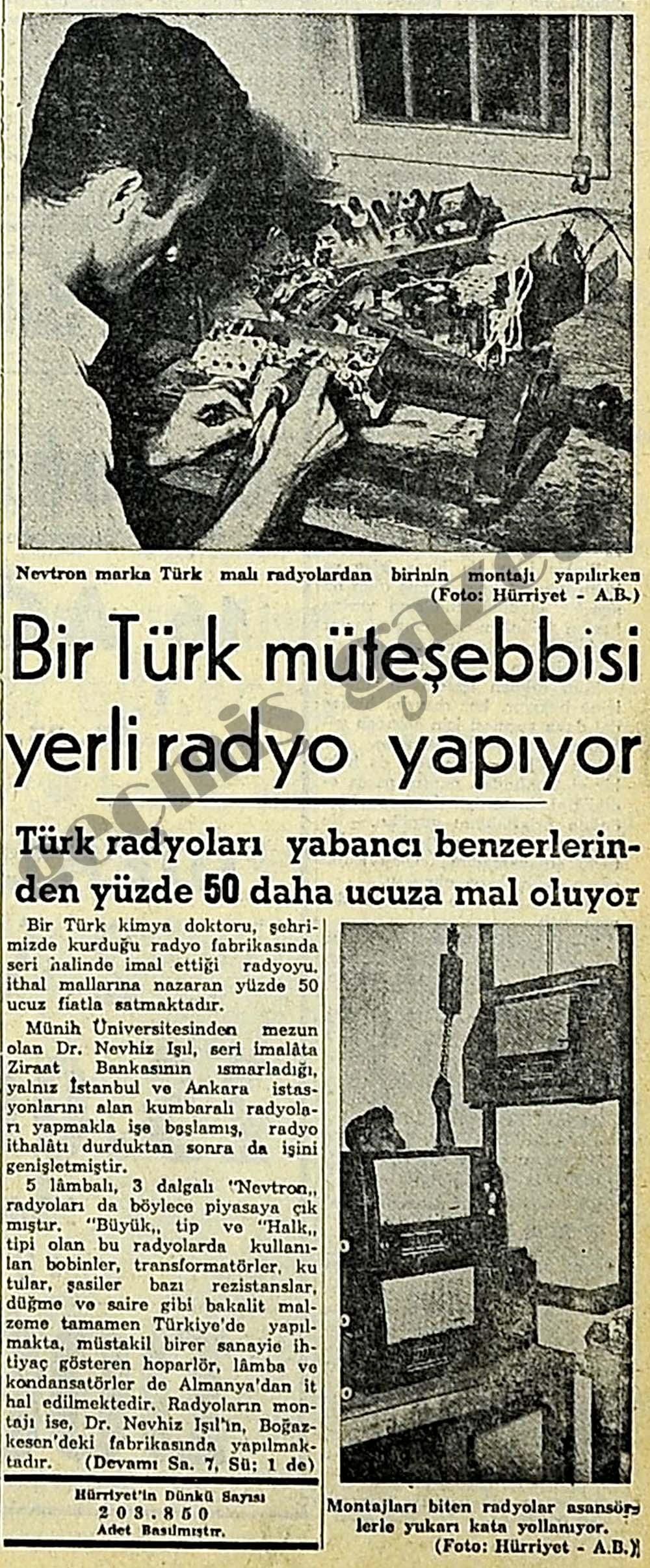 Bir Türk müteşebbisi yerli radyo yapıyor