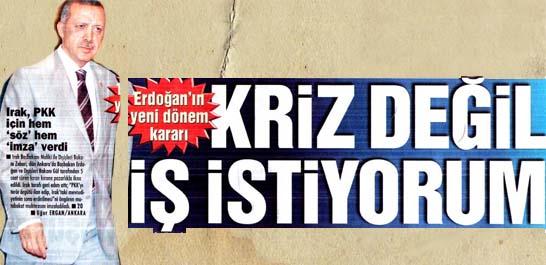 Erdoğan'ın yeni dönem kararı