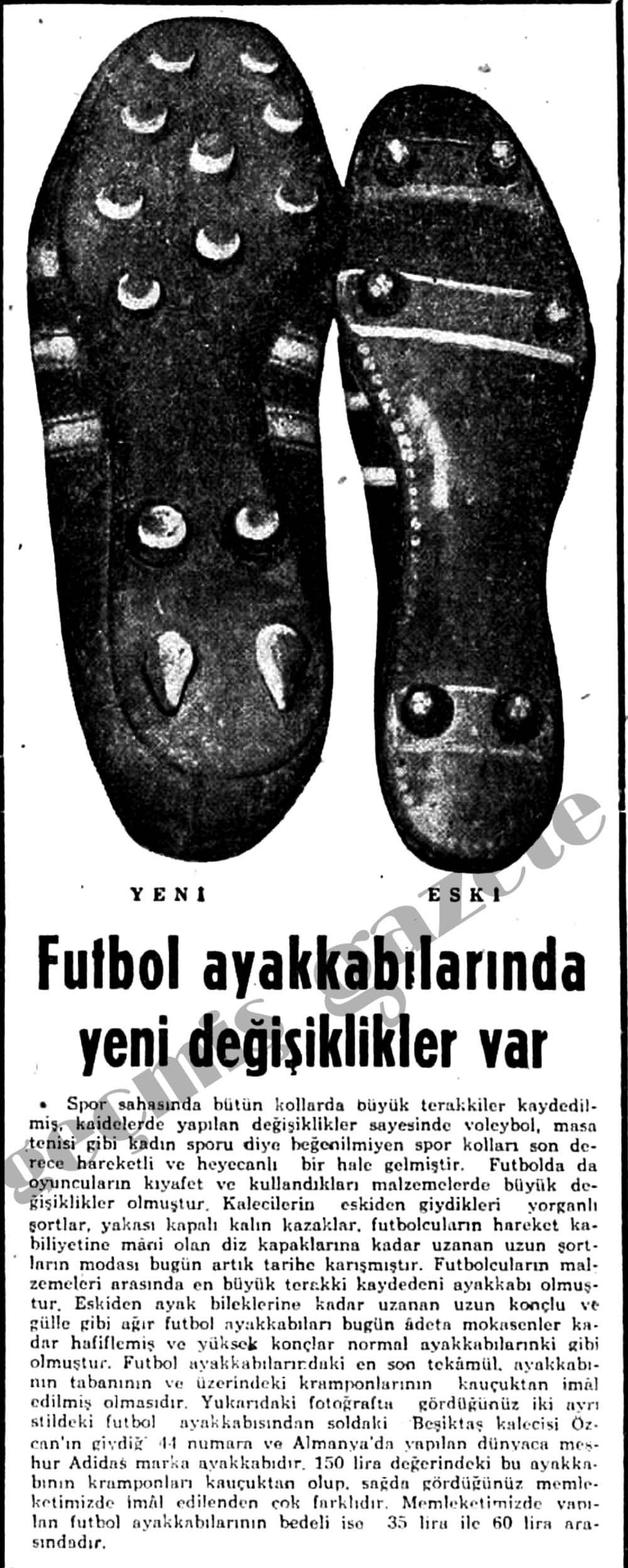 Futbol ayakkabılarında yeni değişiklikler var