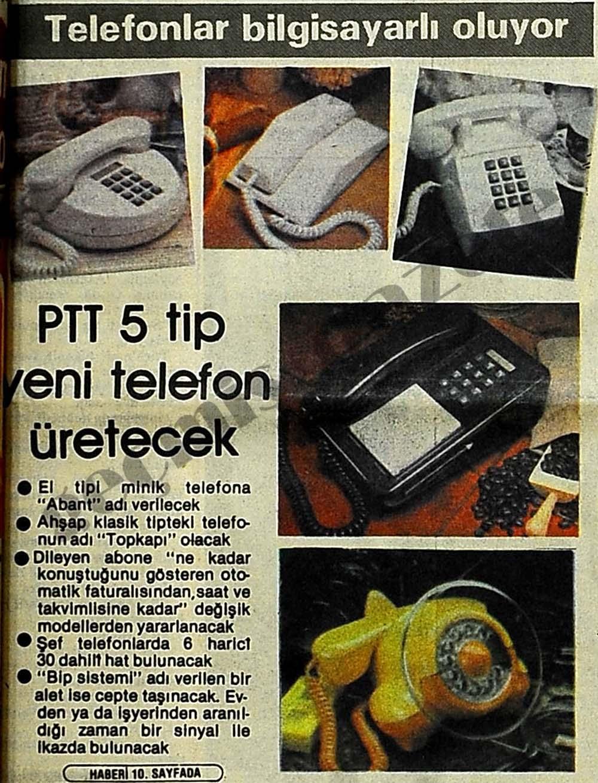 Telefonlar bilgisayarlı oluyor