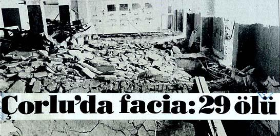 Çorlu'da facia: 29 ölü