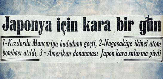 Nagasakiye ikinci atom bombası atıldı