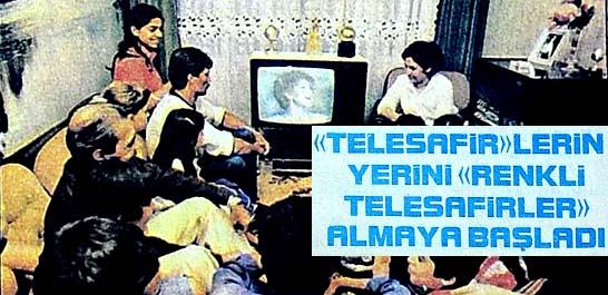 Televizyonu siyah-beyaz olanlar da seferi oldu