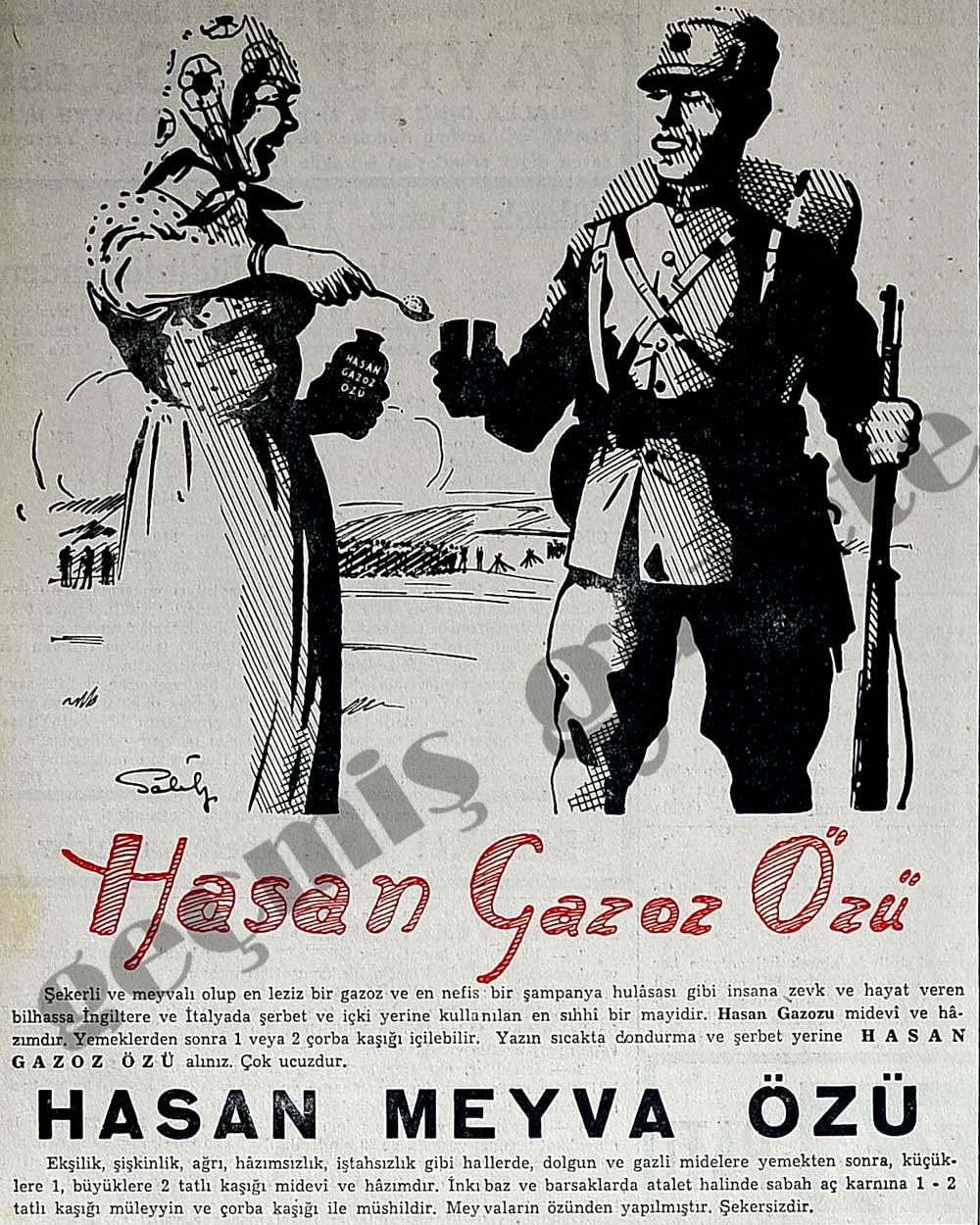 Yazın sıcakta dondurma ve şerbet yerine Hasan Gazoz Özü alınız