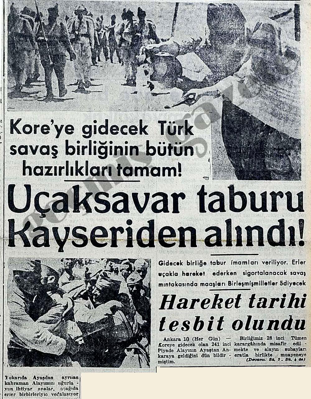 Kore'ye gidecek Türk savaş birliğinin bütün hazırlıkları tamam!