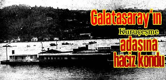 Galatasaray'ın adasına haciz kondu