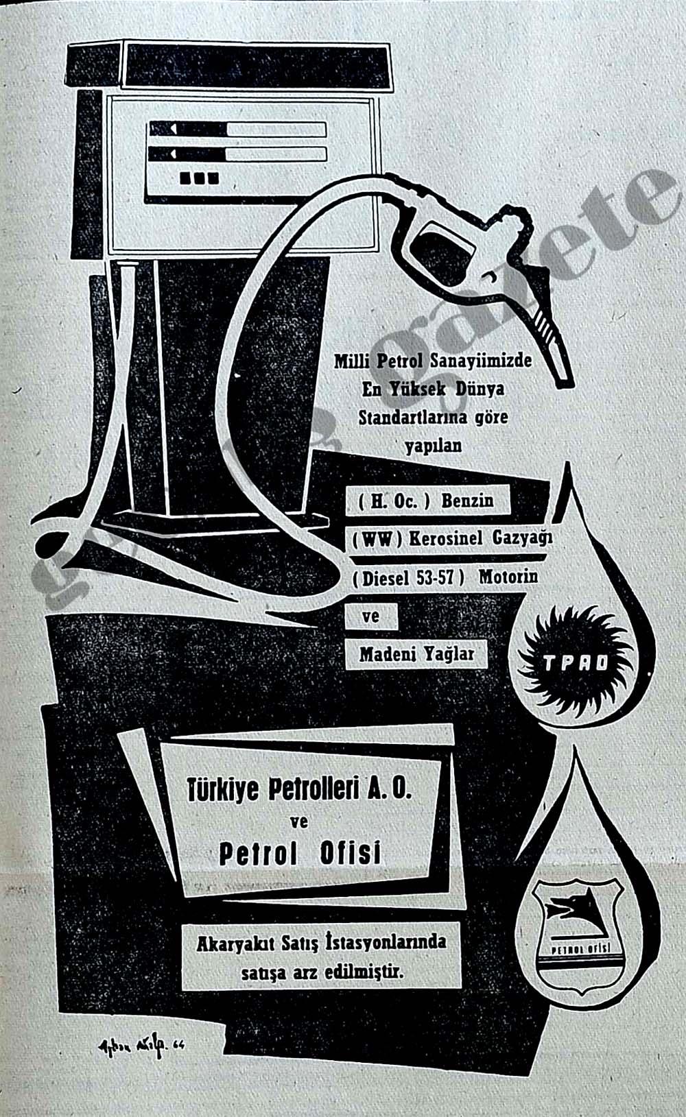 Petrol Ofisi Akaryakıt Satış İstasyonlarında satışa arz edilmiştir