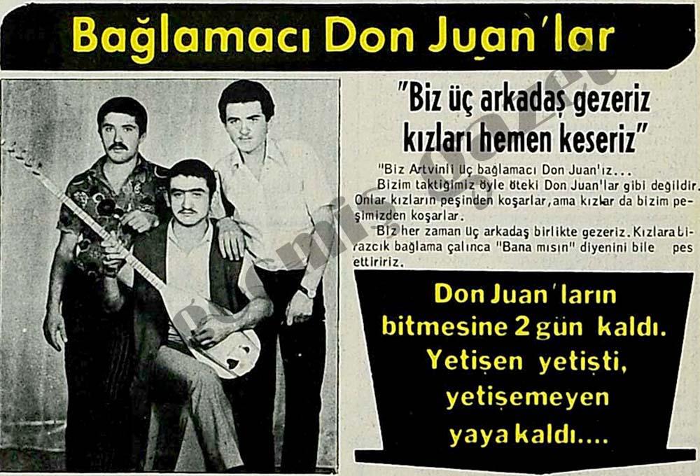 Bağlamacı Don Juan'lar
