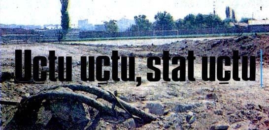 """Ankaragücü Stadı bir gecede """"yok"""" oldu"""
