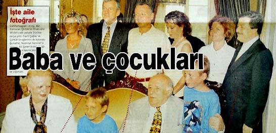 İşte aile fotoğrafı