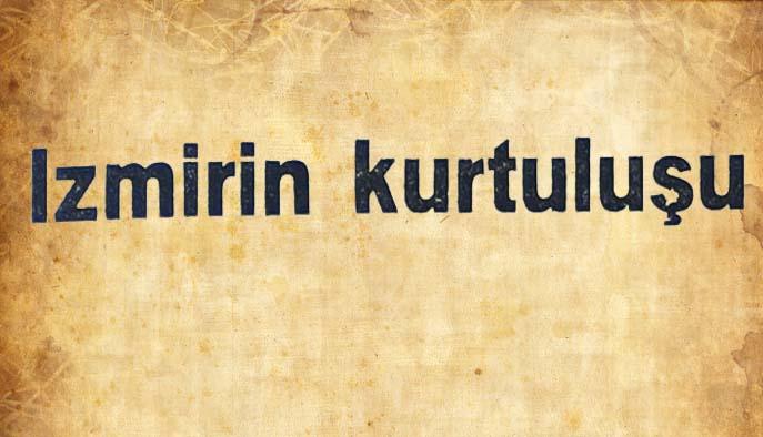 İzmirin kurtuluşu