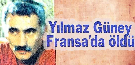 Yılmaz Güney Fransa'da öldü