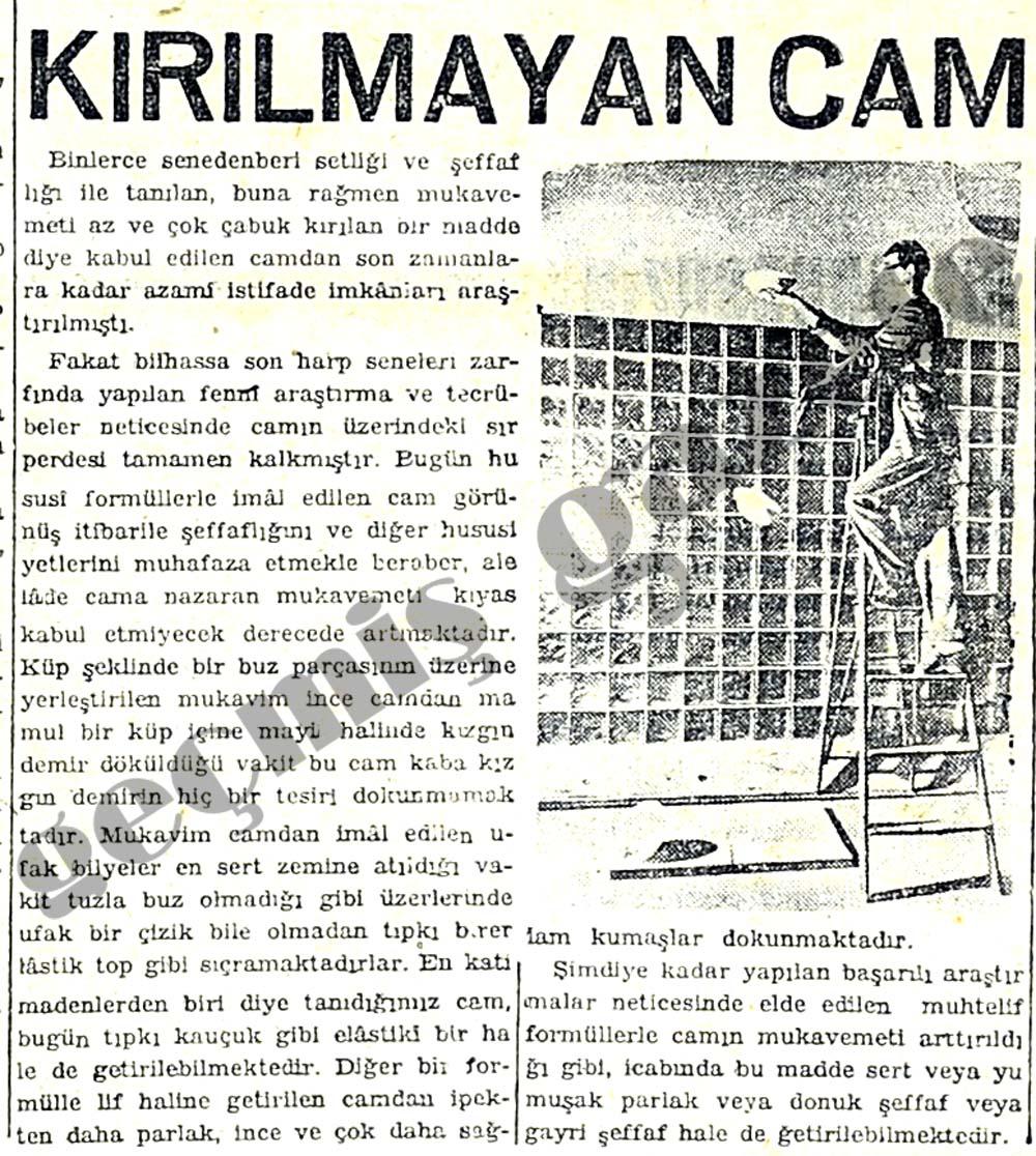 KIRILMAYAN CAM