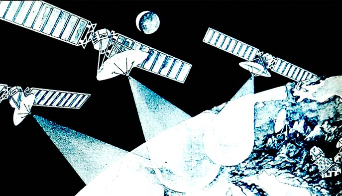 Uydular sayesinde istediğimiz ülkenin TV'sini anında izleyebileceğiz