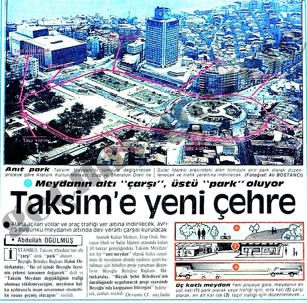 Taksim'e yeni çehre
