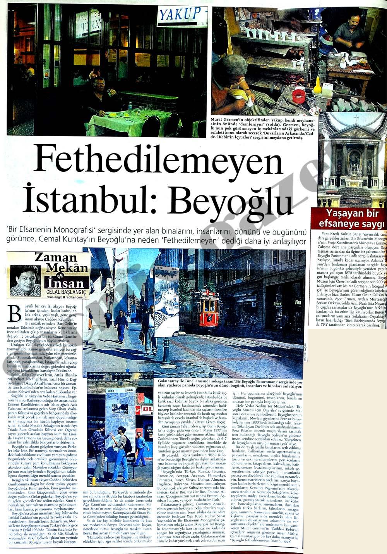 Fethedilemeyen İstanbul : Beyoğlu