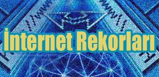 İnternet rekorları
