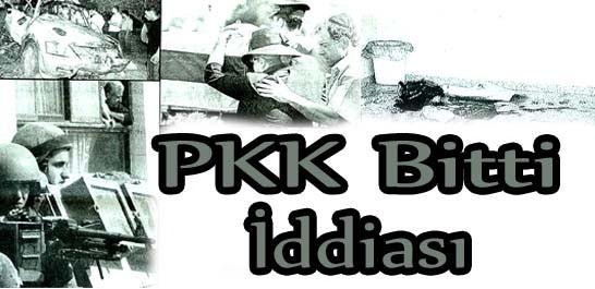 PKK bitti iddiası