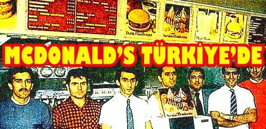 Mcdonald's Türkiye'de