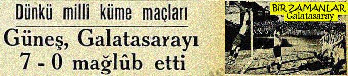 Bir zamanlar Galatasaray
