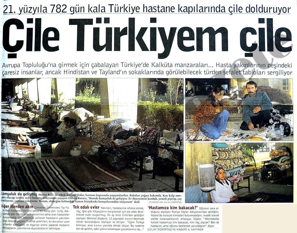 Çile Türkiyem çile