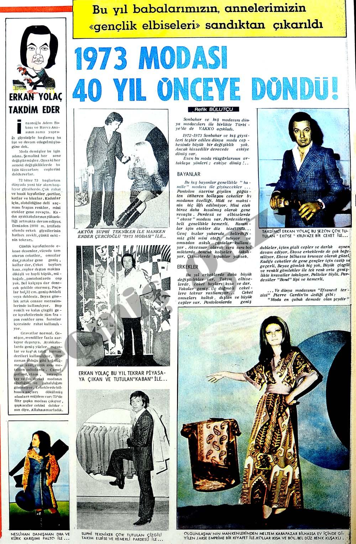 1973 modası 40 yıl önceye döndü