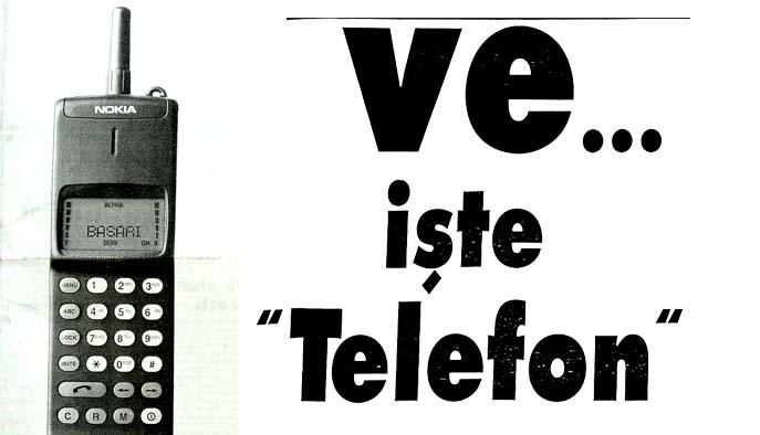"""Ve...işte """"Telefon"""""""