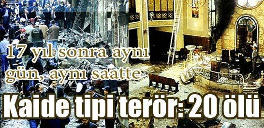 Kaide tipi terör: 20 ölü