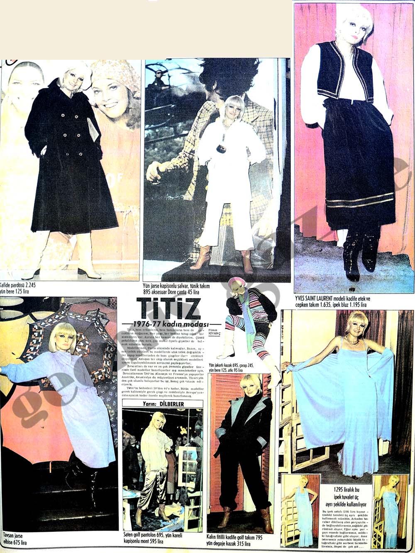 1976-77 kadın modası