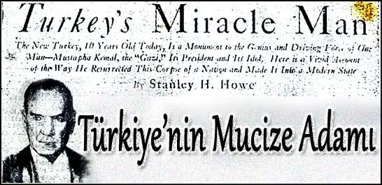 Türkiye'nin mucize adamı