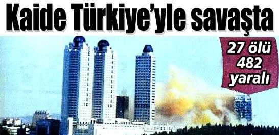 Kaide Türkiye'yle savaşta