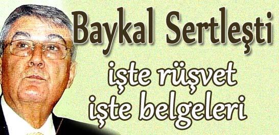 Baykal sertleşti