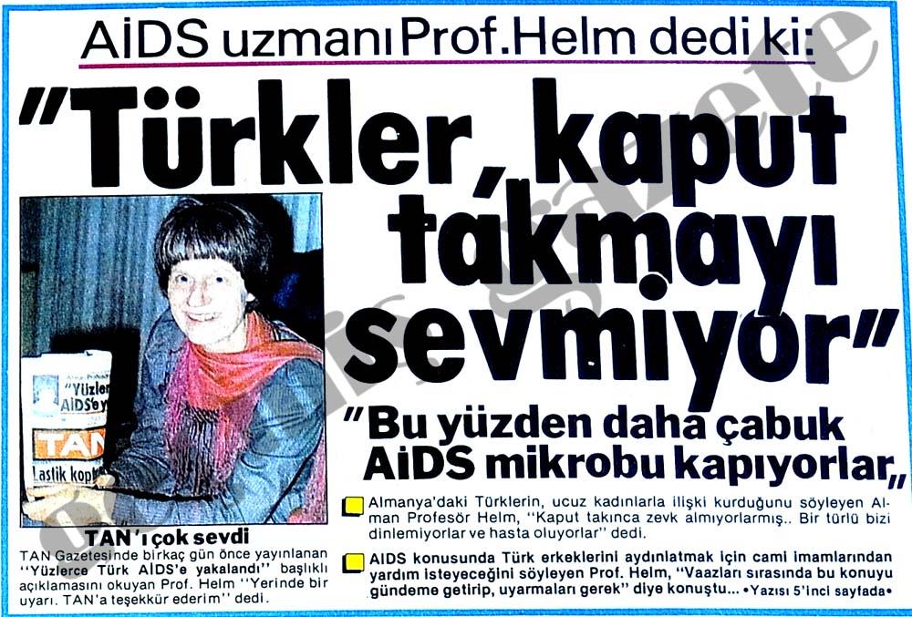 """""""Türkler, kaput takmayı sevmiyor"""""""