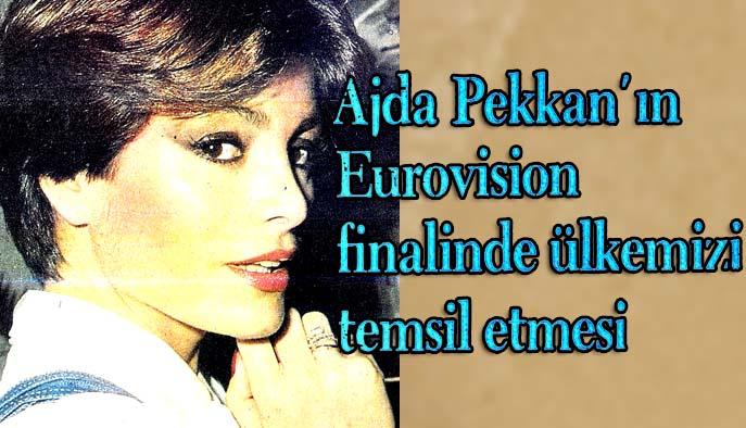 Ajda Pekkan'ın Eurovision finalinde ülkemizi temsil etmesi çok kişiyi sevindirdi ama...