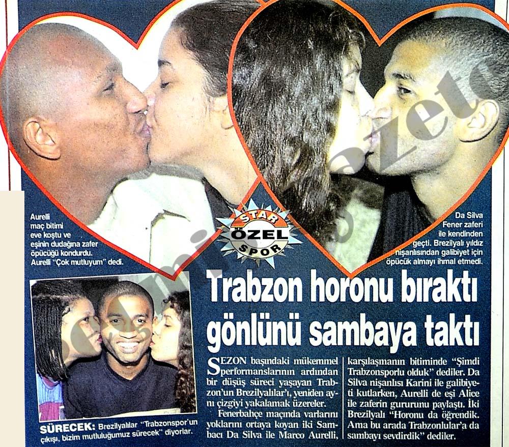 Trabzon horonu bıraktı gönlünü sambaya taktı