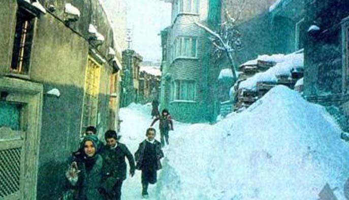 İstanbul'da sıfır derece soğukta çalışanlar