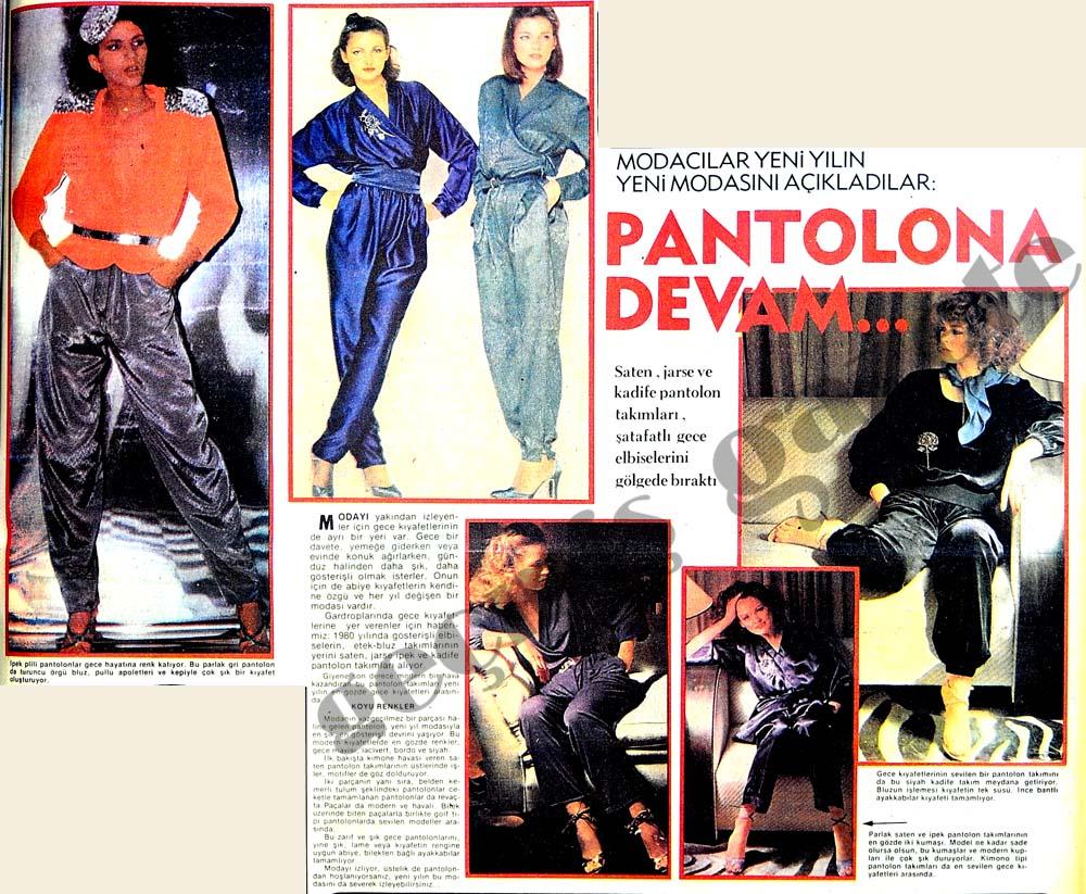 Modacılar yeni yılın modasını açıkladılar: Pantolona devam...