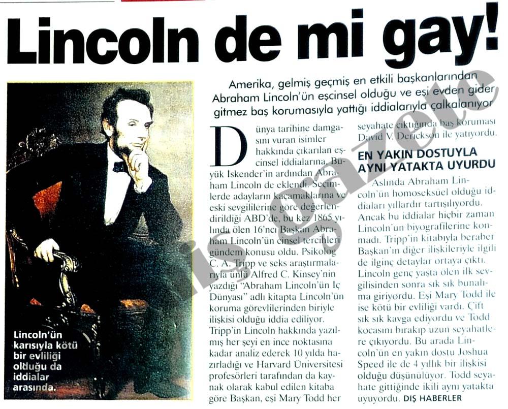 Lincoln de mi gay!