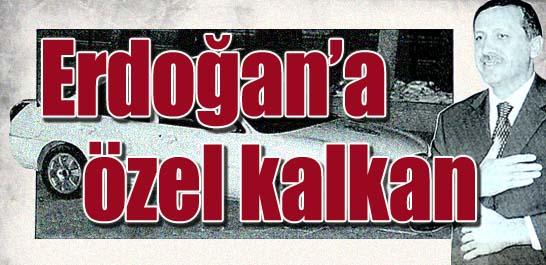 Erdoğan'a özel kalkan