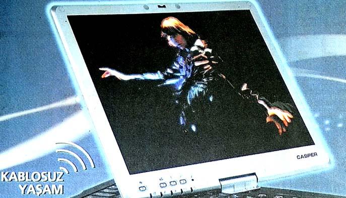 Baş dönmesine karşı 1 adet Casper Tablet PC