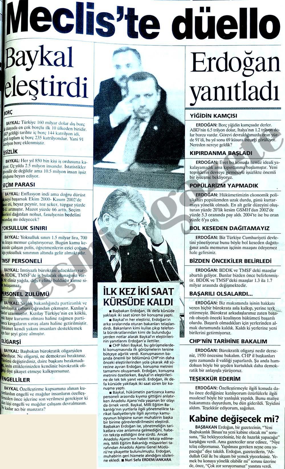 Erdoğan durdurdu