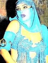Sultan, dansöz olunca