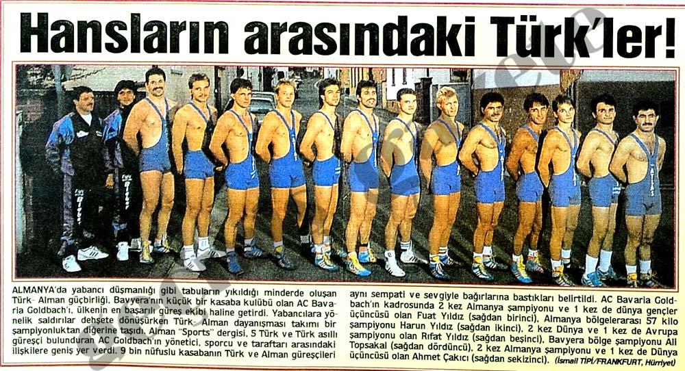 Hansların arasındaki Türk'ler!