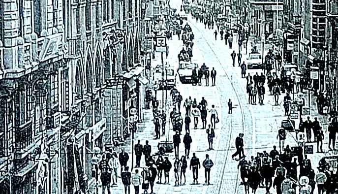 İstiklal Caddesi Bağdat'ı solladı