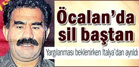 Öcalan'da sil baştan