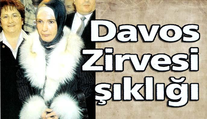 Davos Zirvesi şıklığı