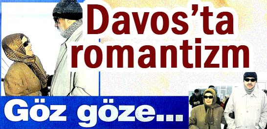 Davos'ta romantizm