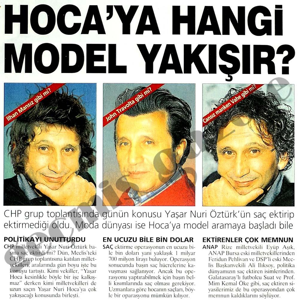 Hoca'ya hangi model yakışır?